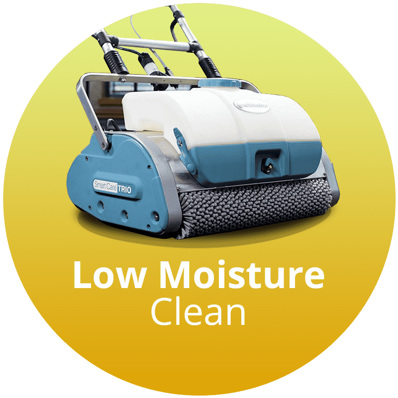 Low Moisture Carpet Cleaning Service